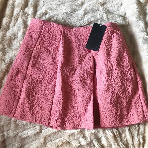 c80e79dbe7 Zara Skirts   Trafaluc Pink Floral Pocketed Flare Skirt M   Poshmark